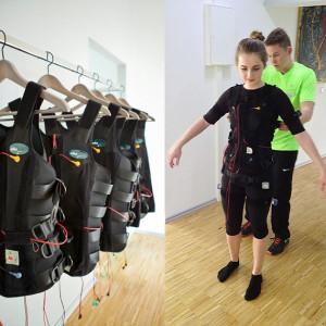 Slim-Gym to go mit Personal Trainer und Trainingswesten