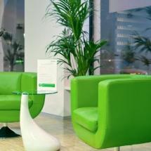 Der Loungebereich wird in den Club Bildern abgebildet