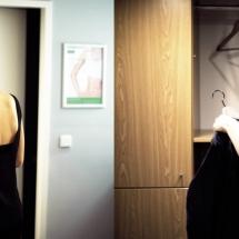 Club Bilder zeigen die gemütliche Damenumkleide