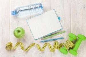 Slim-Gym Ernährungstagebuch zur Auswertung der Ernährung