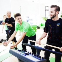Slim-Gym bietet EMS Training Berlin