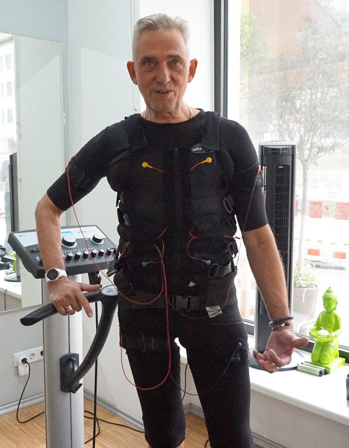 EMS Training bei Slim-Gym kennt keine Altersgrenze