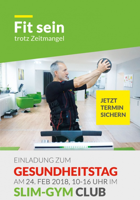 Slim-Gym Berlin Gesundheitstag