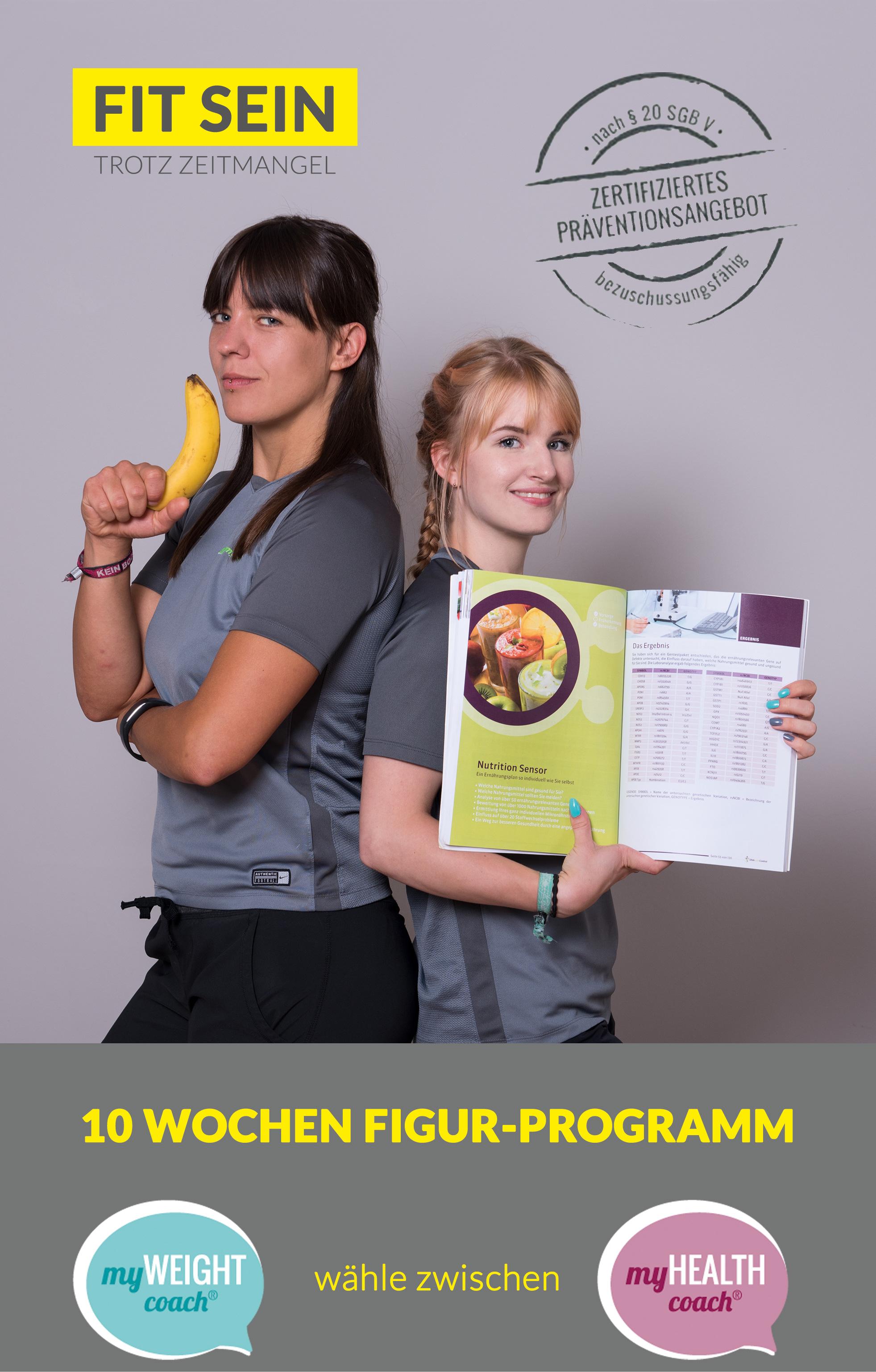 10 Wochen Figur-Programm bei Slim-Gym Mitte